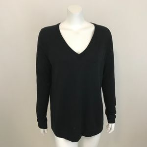 Banana Republic Factory V Neck Sweater Black M